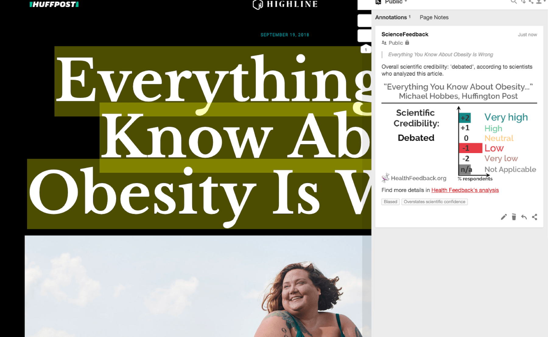 Scientists Discuss The Widely Shared Huffington Post Article Everything You Know About Obesity Is Wrong Health Feedback